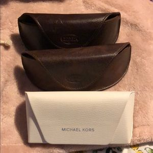 Lot of Sunglass Cases